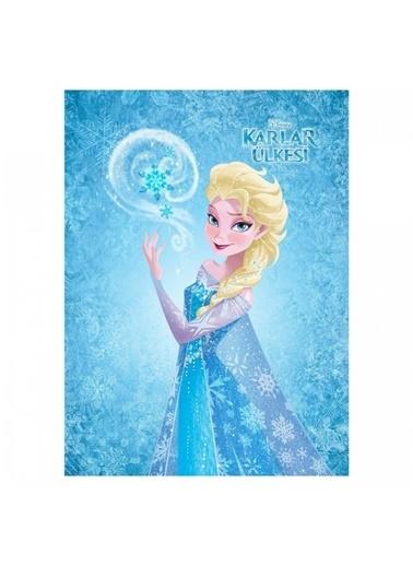 Disney Frozen 50x70 cm Kanvas Tablo Renkli